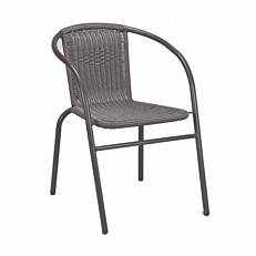 Καρέκλα μεταλλική rattan