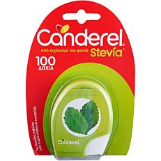 Γλυκαντικό CANDEREL sucra stevia σε tabs (100τεμ.)