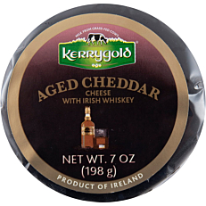 Τυρί KERRYGOLD cheddar με ουίσκι (198g)
