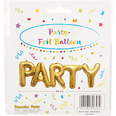 Μπαλόνι foil χρυσό party (1τεμ.)