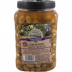 Ελιές ΣΟΛΩΜΟΣ πράσινες τσακιστές (2,2kg)
