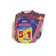 Κρουασάν CHAMPION με γέμιση πραλίνα φουντουκιού 5+1ΔΩΡΟ (6x70g)