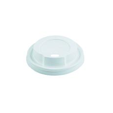Καπάκια με τρύπα λευκά 90mm (100τεμ.)