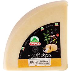 Τυρί ΤΥΡΑΣ γραβιέρα αιγοπρόβειο (2kg)