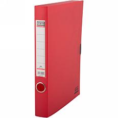 Κουτί αρχειοθέτησης SKAG PP με κούμπωμα 3,7cm κόκκινο