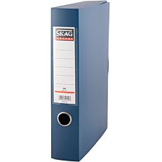 Κουτί αρχειοθέτησης SKAG PP με κούμπωμα 6cm μπλε