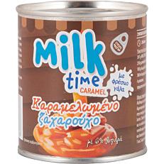 Γάλα MILK TIME καραμελωμένο ζαχαρούχο (397g)