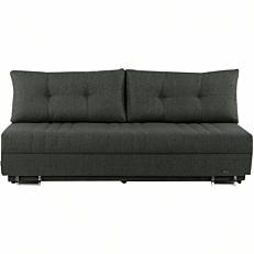 Καναπές κρεβάτι NEW JERSAY τριών θέσεων γκρι 203x96x82cm