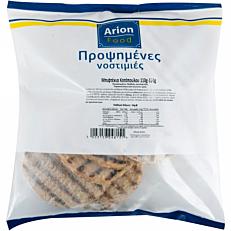 Μπιφτέκι ARION FOOD κοτόπουλο σχάρας, 110-120γραμμαρίων προψημένο κατεψυγμένο (9τεμ.)