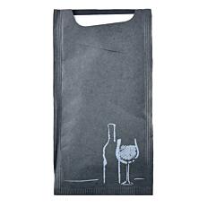 Θήκη μαχαιροπίρουνων Pocket κρασί μαύρη (125τεμ.)