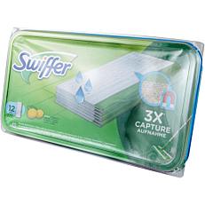 Πανάκια SWIFFER αντιβακτηριακά υγρά (12τεμ.)