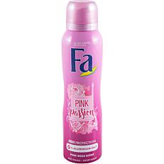Αποσμητικό σώματος FA Pink Passion, σε σπρέι (150ml)