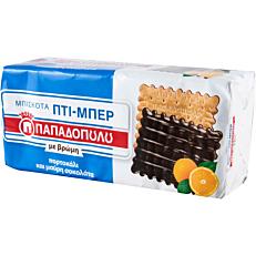 Μπισκότα ΠΑΠΑΔΟΠΟΥΛΟΥ ΠΤΙ ΜΠΕΡ βρώμης σοκολάτα πορτοκάλι (16x225g)