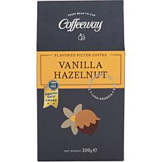 Καφές COFFEEWAY φίλτρου βανίλια φουντούκι (200g)