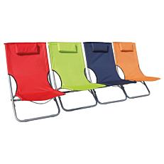 Καρέκλα παραλίας σε 4 χρώματα 40x40x61cm