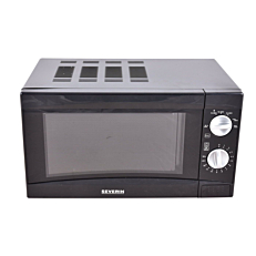Φούρνος μικροκυμάτων SEVERIN μαύρος 700W 17lt