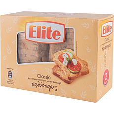 Φρυγανιά ELITE πολύσπορες (180g)