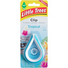 Αρωματικό αυτοκινήτου LITTLE TREES Tropical clip