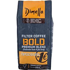 Καφές DIMELLO φίλτρου bold (250g)
