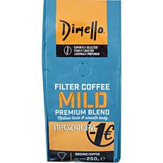 Καφές DIMELLO φίλτρου mild (250g)