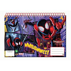 Μπλοκ ζωγραφικής GIM Spiderman A4 30 φύλλων