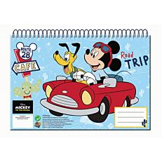 Μπλοκ ζωγραφικής GIM Mickey A4 30 φύλλων