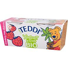 Γιαούρτι επιδόρπιο TEDDI φράουλα bio (2x115g)