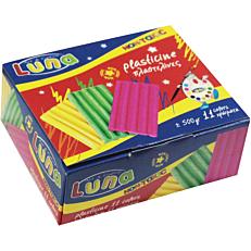 Πλαστελίνη LUNA σε 11 χρώματα 500g