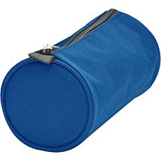 Κασετίνα βαρελάκι μπλε