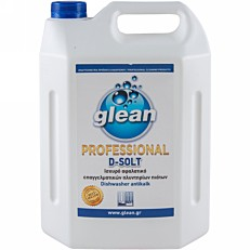 Απορρυπαντικό GLEAN πλυντηρίου πιάτων αφαλατικό d-solt (4lt)