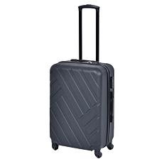 Βαλίτσα WANDA σκληρή με 4 τροχούς μαύρη 57x38x23cm