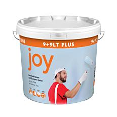 Χρώμα KRAFT Joy ακρυλικό εξωτερικής χρήσης, λευκό (9+9lt ΔΩΡΟ)