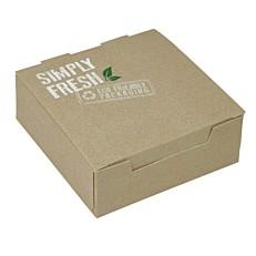 Κουτιά φαγητού GREEN ECO-FRIENDLY 13x13x5cm (25τεμ.)