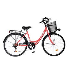 """Ποδήλατο EXTREME city 26"""" κοραλί γυναικείο"""